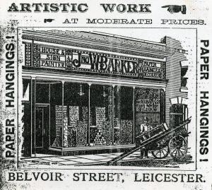 JWB shop Belvior Street
