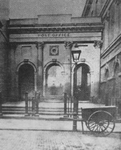 Post Office on Granby Street 1860s