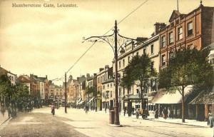 Humberstone Gate postcard