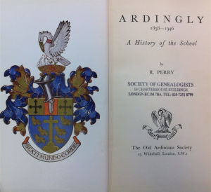 Ardingly a history of the school