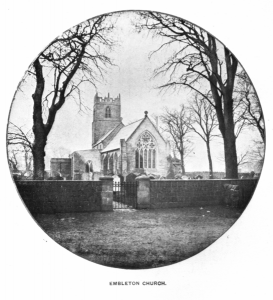 Holy Trinity Embleton in late Victorian times