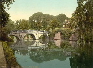 Cambridgeshire, Cambridge, Clare College and Bridge